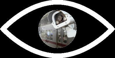 viisights logistics video analytics icon including surveillance camera