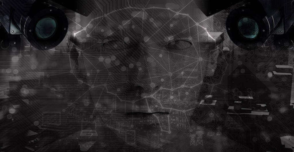 viisights neural network background image with human face and video cameras