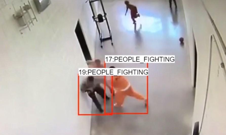 prison fight