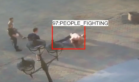 people fighting