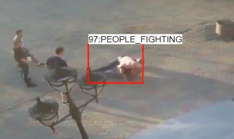 people fighting