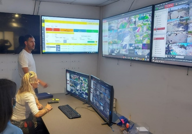 eilat command and control center