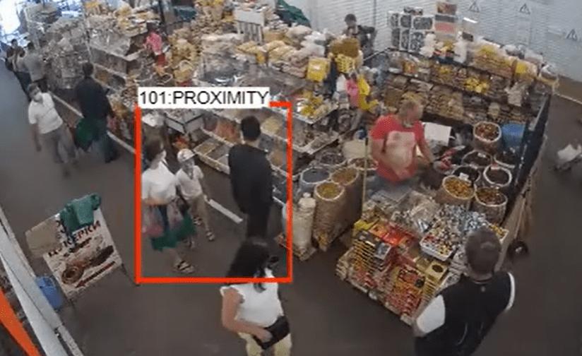 person to person proximity