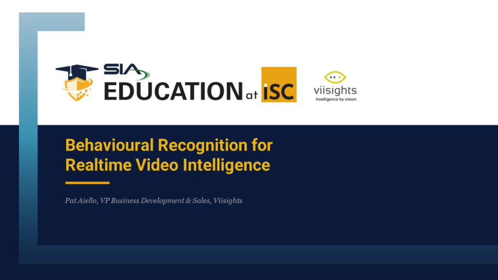 SIA-Education at ISC-West